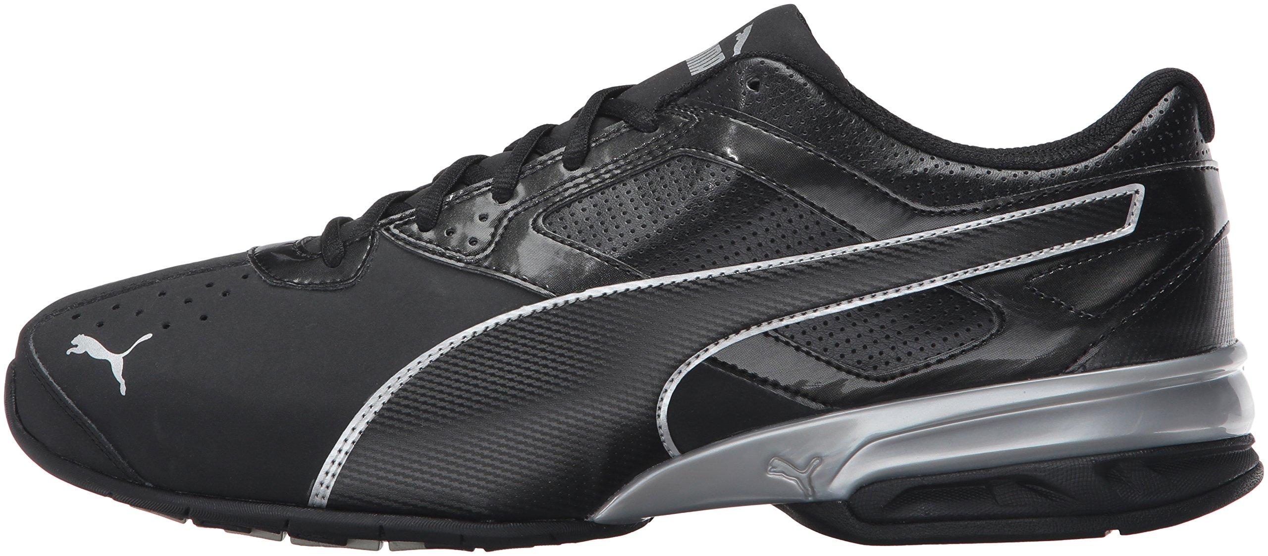 PUMA Men's Tazon 6 FM Puma Black/ Puma Silver Running Shoe - 8 D(M) US by PUMA (Image #5)