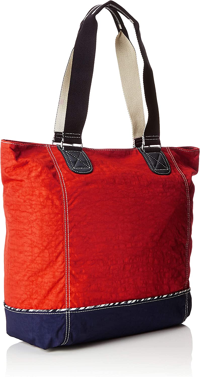 Kipling Women's Shopper C Tote Red (Active Red Bl)