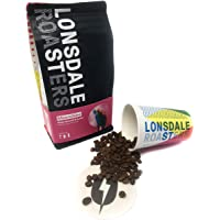 Lonsdale St Roasters Coffee Beans Moonshine Organic Blend (500g)