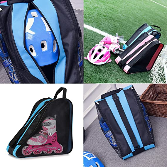 Amazon.com: Elle bolsa para patines ROLLER HOCKEY sobre ...