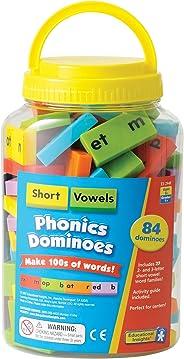 Educational Insights Phonics Dominoes: Short Vowels, Multi