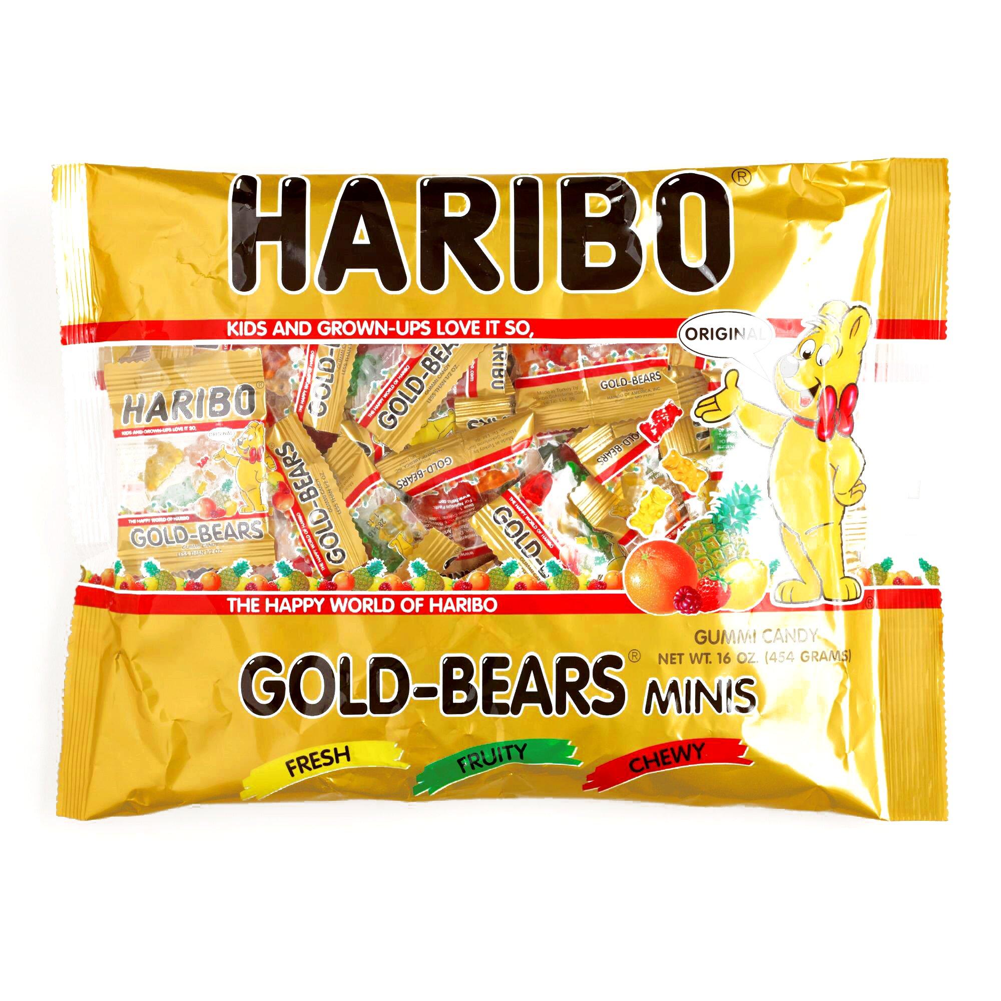Haribo Mini Gold Bears 1 lb. Bag (1 Item Per Order)