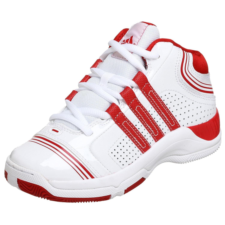 c134773ebb664 Adidas Littel Kid/Big Kid Supercush 3 Basketball Sneaker, White/Red ...