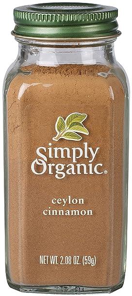 Simply Organic Canela de Ceilán | Certificado orgánico ...