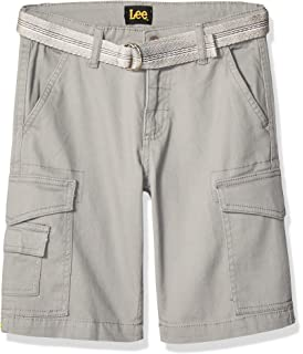 Lee Dungarees Relaxed Fit Cargo Short for Boys Straight Leg Adjustable Waistband