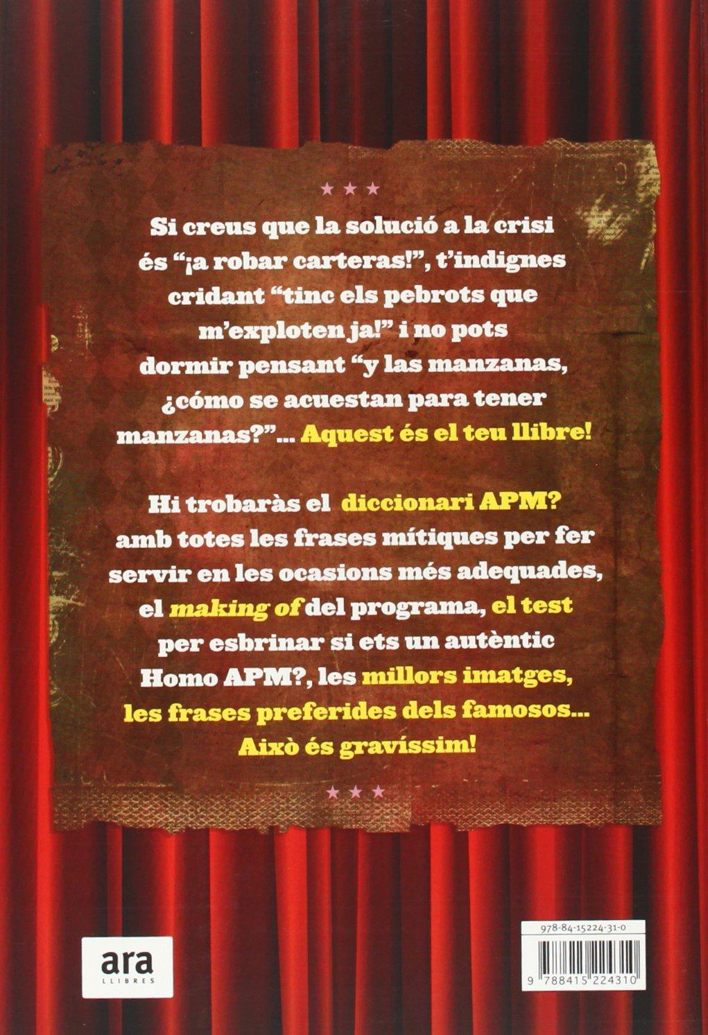 APM? EL CIRC DE LA TELE + SAMARRETA (2 ED.): 9788415642107: Amazon.com: Books