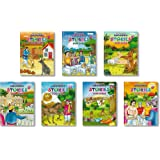 Grandma Tales Collections for kids by InIkao: Set of 7 Traditional Tales collections