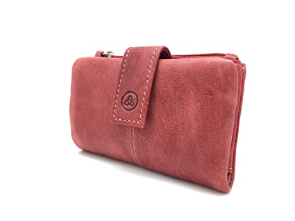 Cartera - Monedero Lugupell Norwich - Color: Rojo (12 x 8 cm ...