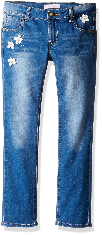 GUESS girls Little Girls Knit Denim Pants K72A01D2I20