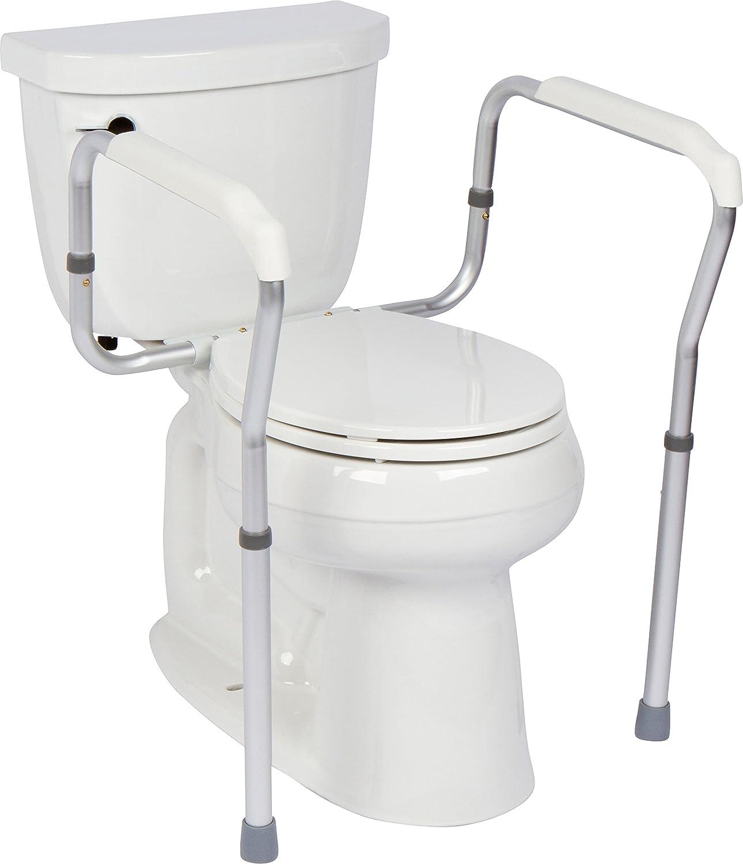 Amazon.com: Casiva Premium Toilet Safety Rail - Strong, Secure ...