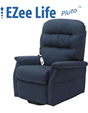 EZee Life Lift Chair Recliner - Infinite Position Dual Motor - Pluto Blue