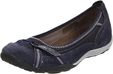 e3f8f8211202 Clarks Privo Cosign Womens Blue Walking Suede Flats Shoes Size ...