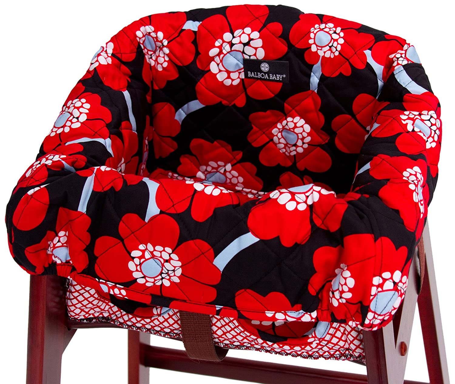 Astonishing Balboa Baby High Chair Cover Red Poppy Discontinued By Manufacturer Alphanode Cool Chair Designs And Ideas Alphanodeonline