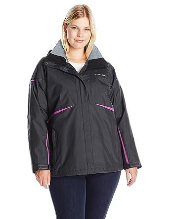 74174e3a629 Columbia Women s Size Blazing Star Interchange Jacket Plus at Amazon ...