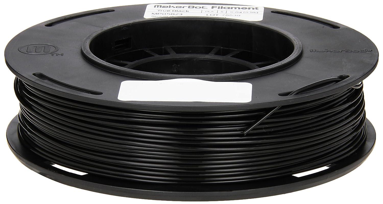 MakerBot PLA Filament, 1.75 mm Diameter, Small Spool, Black MP05823