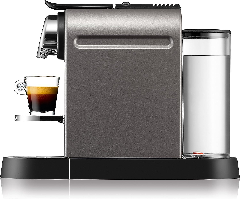 Nespresso Citiz XN 740BPR4, cafetera de cápsulas, 19 bares, Krups ...