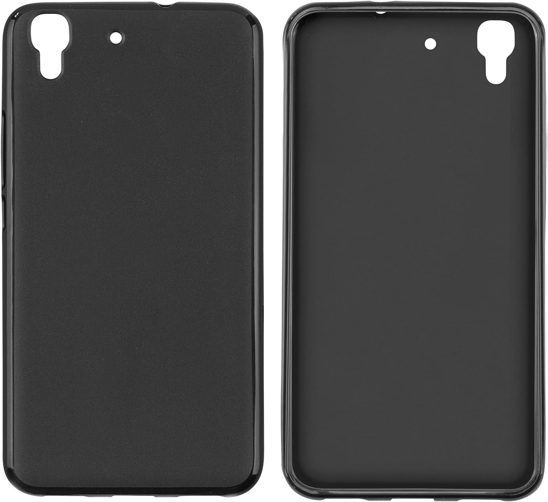transparent mumbi H/ülle kompatibel mit Huawei Y6 2015 Handy Case Handyh/ülle mit Motiv Mandala Weiss