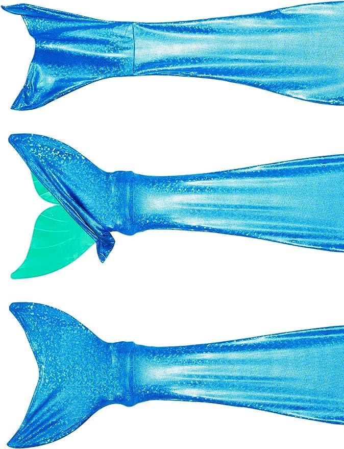 /13/a/ños Filles Deguisement Sirene Cola baignable Nager Disfraz Vestido Traje de ba/ño nataci/ón ni/ño Monoaleta 5/