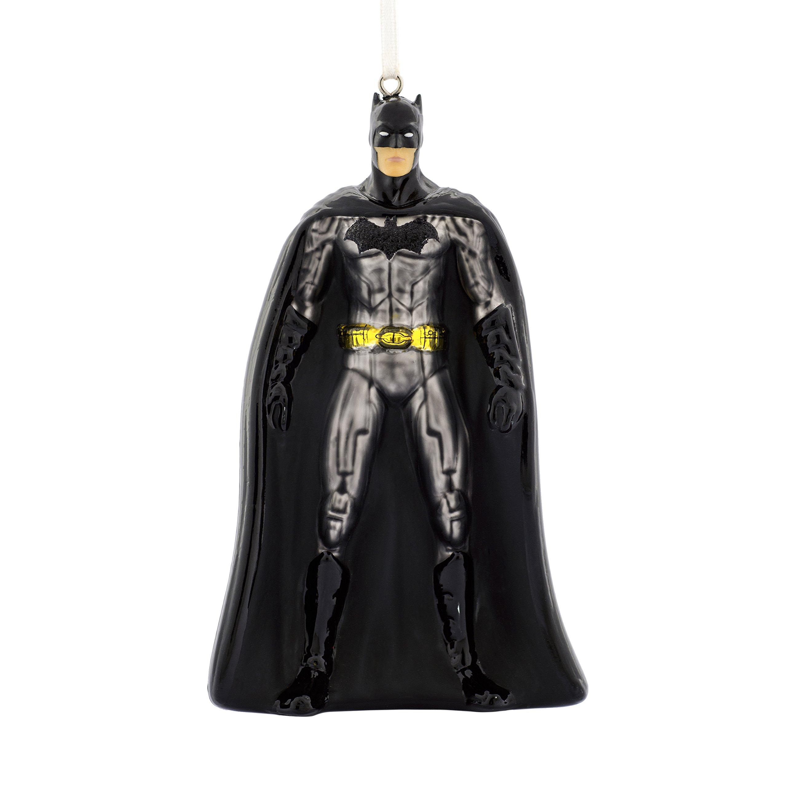 Hallmark Christmas Ornament Batman Blown Glass Figure