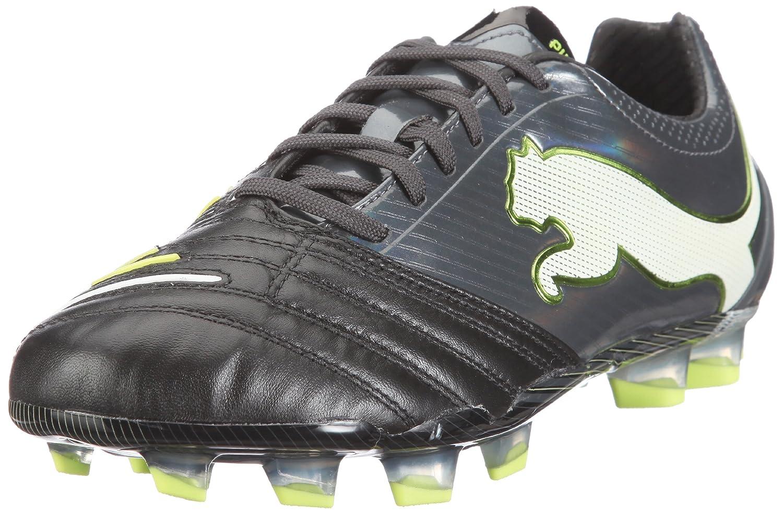 fd9356c5ac0e Amazon.com | PUMA Powercat 1.12 FG Mens Leather Soccer Boots/Cleats-Black-8.5  | Soccer