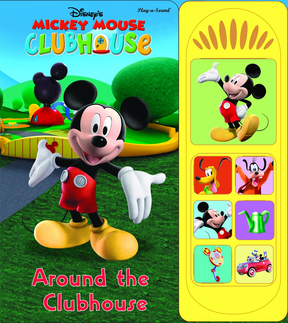 Download Mickey Mouse Around the Clubhouse (Mickey Mouse Clubhouse - Play-a-sound) PDF