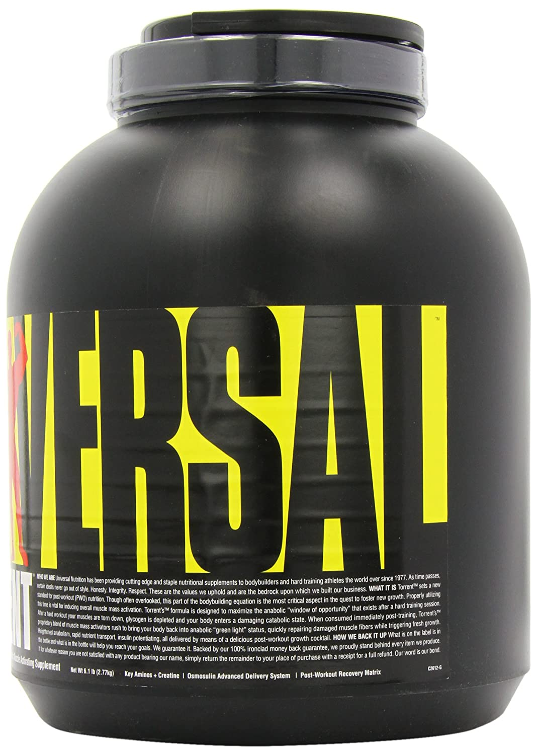 Torrent Post Workout Recovery Supplement 52g Carbs, 20g Protein and 1.5g Fats- Cherry Berry – 6