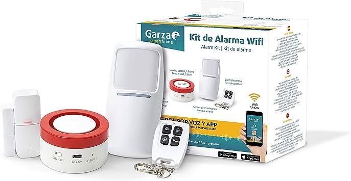 Garza Smarthome - Kit de Alarma WiFi Inteligente para hogar ...