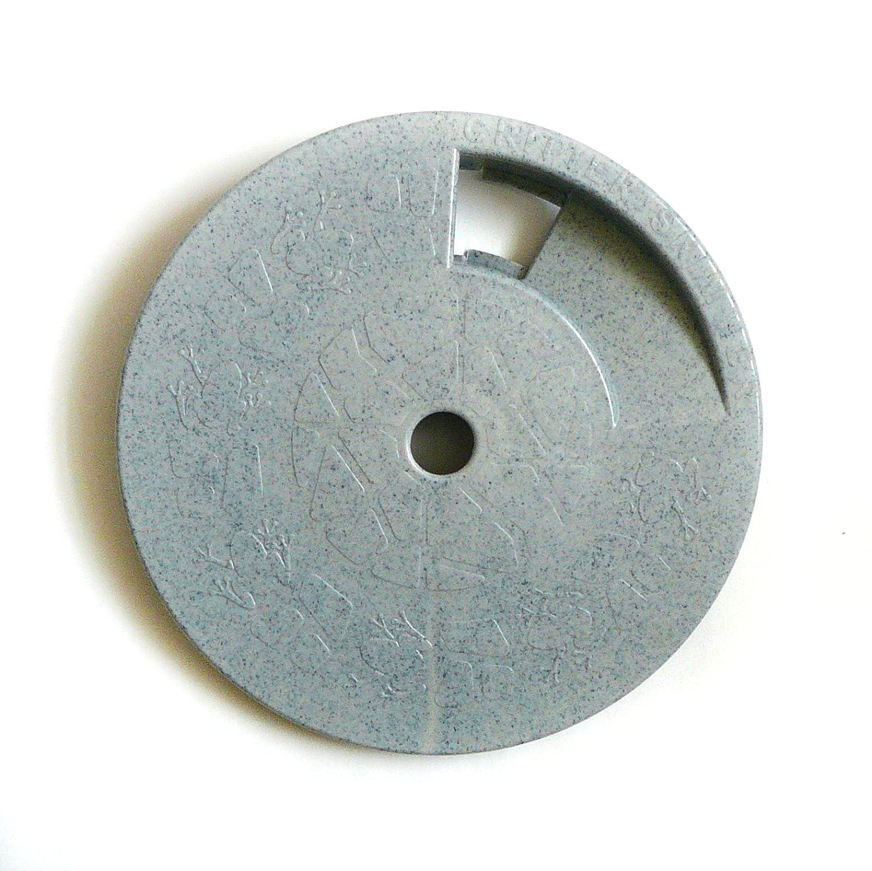 Critter Skimmer 9-Inch Round Pool Skimmer Cover, Gray RD-02G