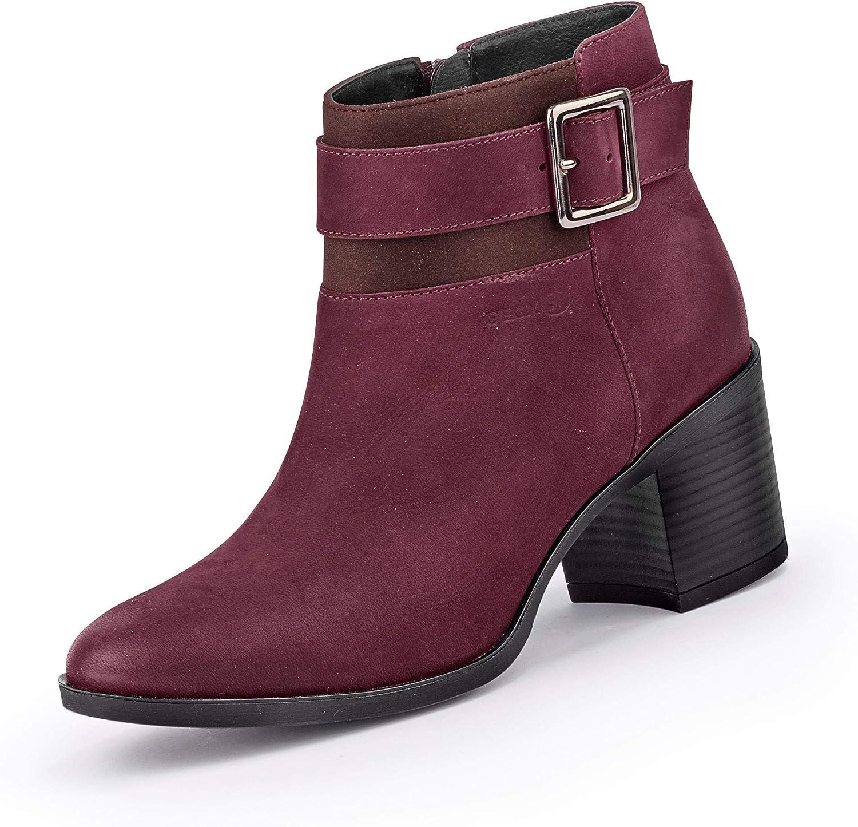 Geox Mujer Botines New ASHEEL, señora Botines: Amazon.es: Zapatos ...