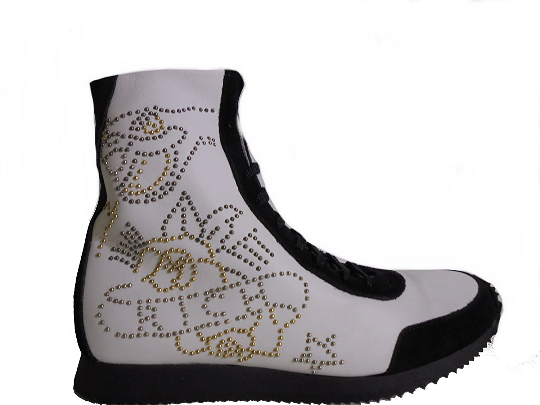 Richmond Richmond Richmond Velour schwarz Damen Walkingschuhe weiß Bianco ITA - 37 damen 89d963