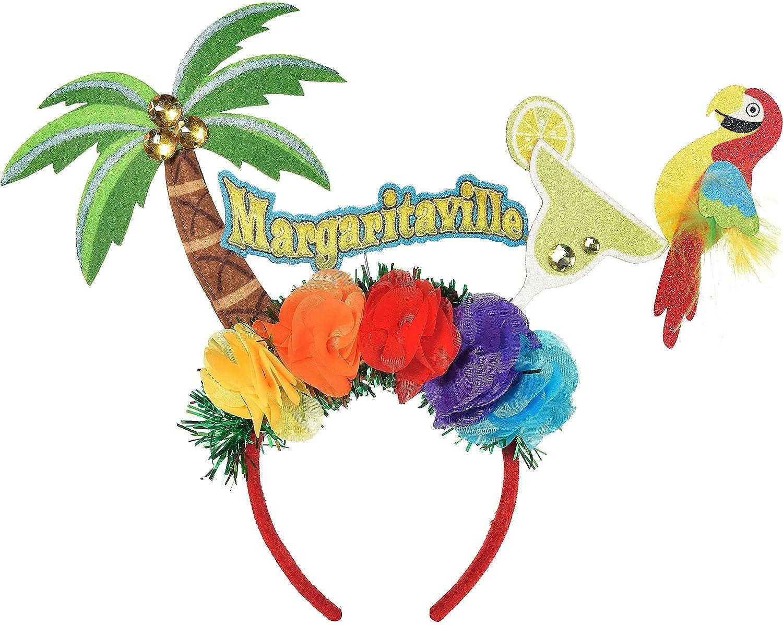 Parrot Hat Jimmy Buffet Margaritaville Head Velvet Costume Parrothead Cap