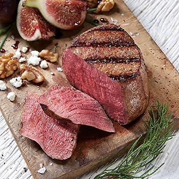 4 cajas de regalo y extra grueso corona filete Mignon Steaks ...