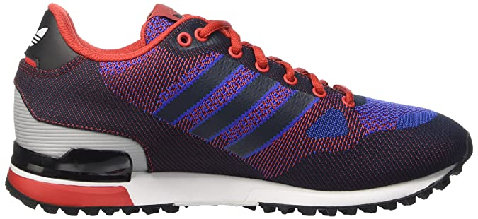 d4b115a5b4ecc ... buy adidas originals mens zx 750 wv red dark blue and blue sneakers 4  uk buy