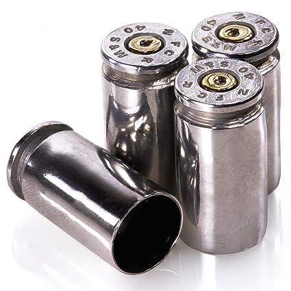Amazon.com: Set de 4 tapas protectoras en forma de balas del ...