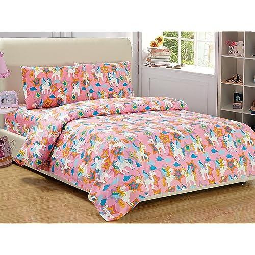 unicorn sheets amazon com