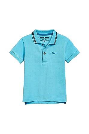 Manches AnsVêtements Garçon Courtes Polo Next 3 2 Bleu 80OwXknP