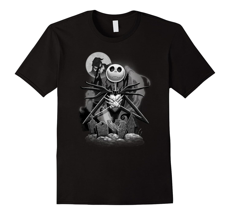 Disney Nightmare Before Christmas Jack Night Scene T Shirt-TJ ...