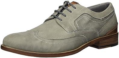 a9948891959 Steve Madden Men's Mulder Oxford, Light Grey, 13 M US: Buy Online at ...