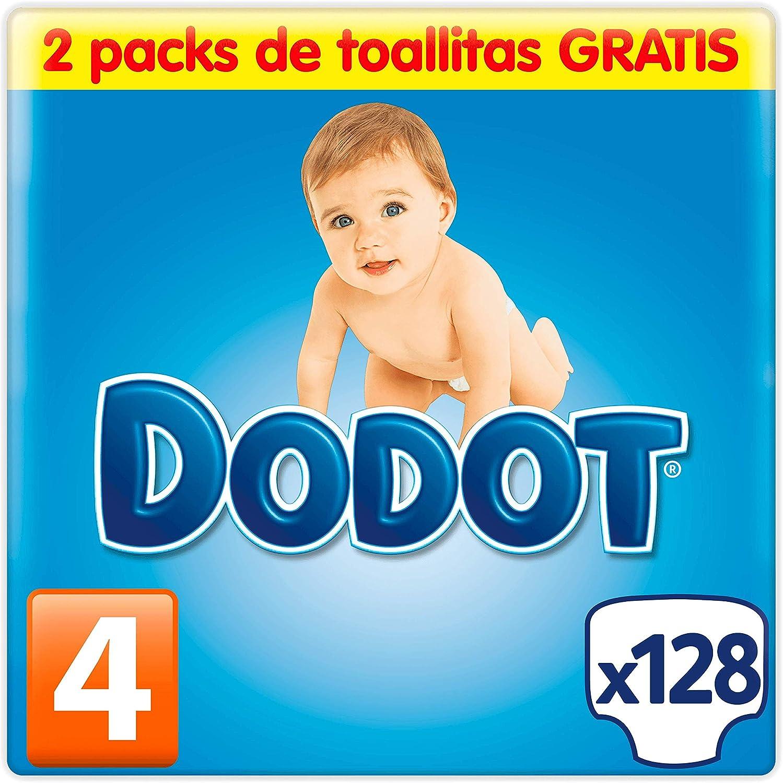 Dodot Pañales Talla 4 (8-14 kg) 124 Pañales: Amazon.es: Salud y cuidado personal