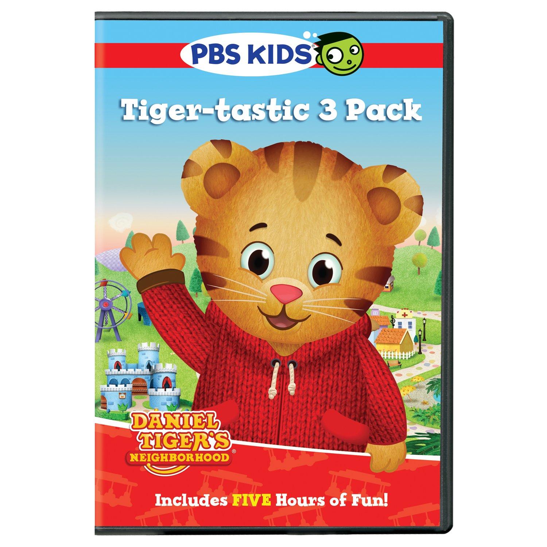 Amazon.com  Daniel Tiger s Neighborhood  Tiger-tastic 3 Pack  n a ... 9ab0aeca82