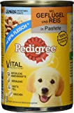 Pedigree Junior Hundefutter, 12 Dosen (12 x 400 g)