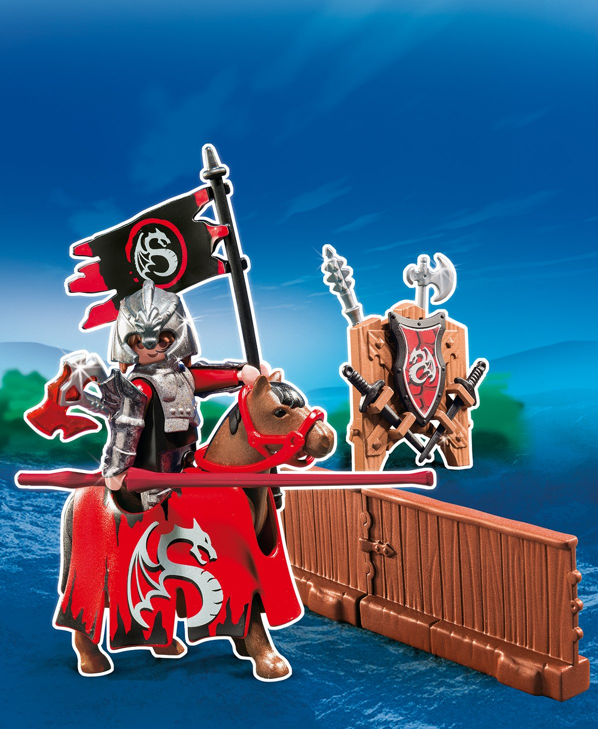 PLAYMOBIL/® Dragon Tournament Knight Play Set