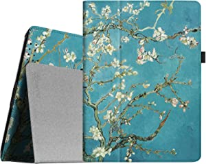 Fintie Folio Case for iPad 2 3 4 (Old Model) 9.7 inch Tablet - Slim Fit Smart Stand Protective Cover Auto Sleep/Wake for iPad 2, iPad 3rd gen & iPad 4th Generation with Retina Display, Blossom