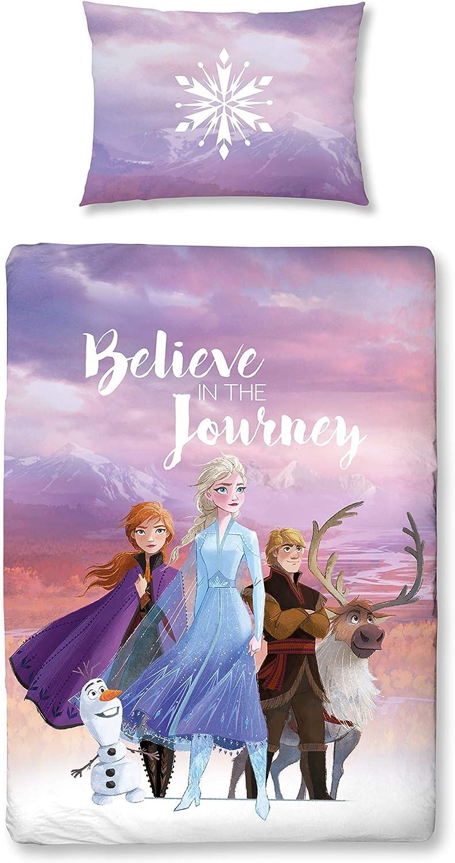 Character World Disney Frozen Juego de ropa de cama infantil para ...