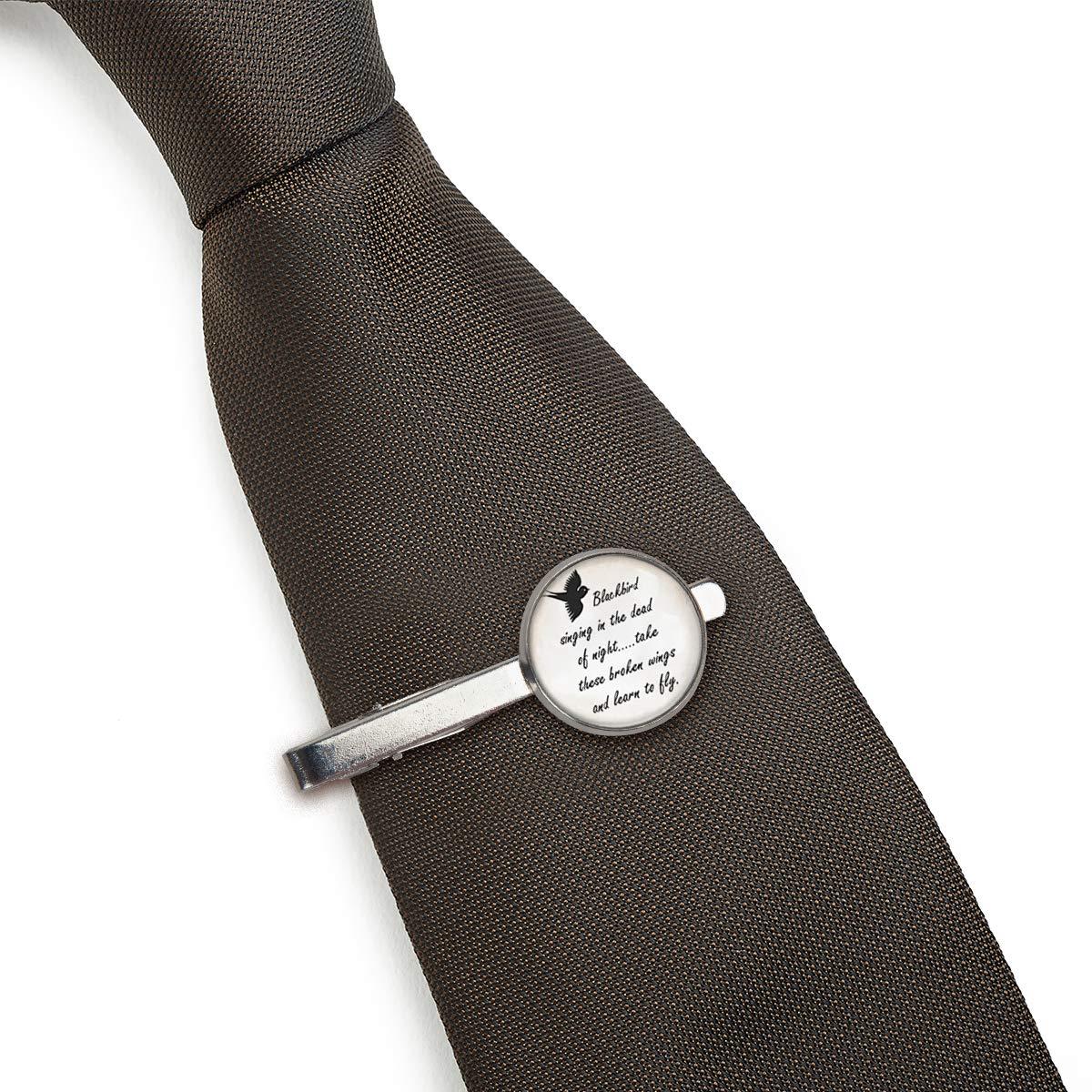 LooPoP - Alfileres de Corbata para Hombre, diseño de pájaro Negro ...
