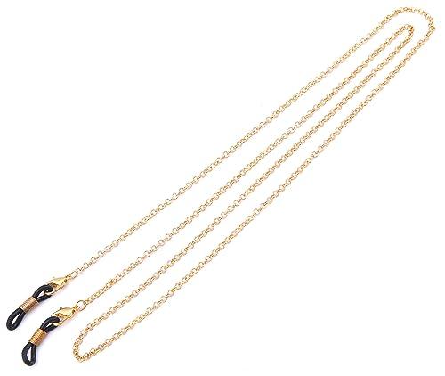 das billigste akzeptabler Preis exquisiter Stil Likgreat Brillenkette für Damen, Perlenkette für Lesebrillen,  Sonnenbrillen, Brillenhalter, Halteband