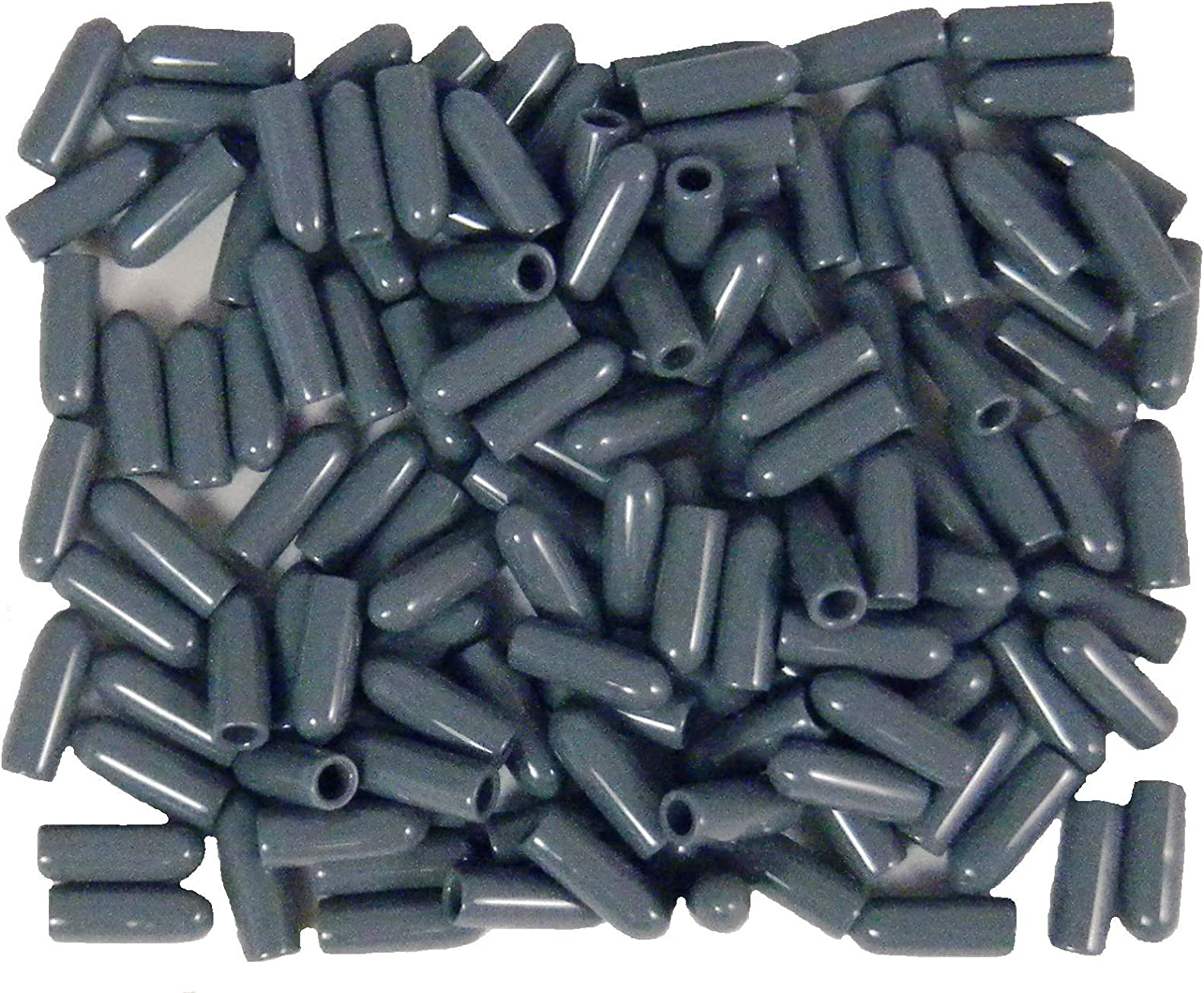 100 Universal Gray Grey Dishwasher Rack Tip Tine Cover Caps Just Push On to Repair