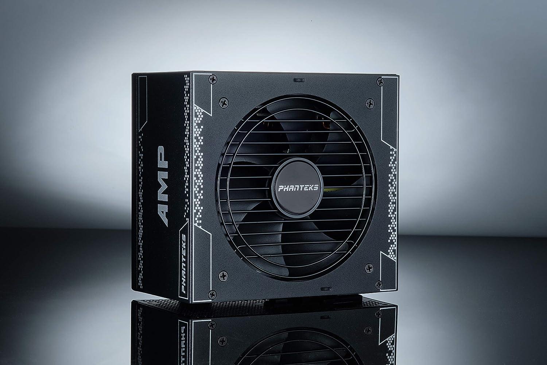 Phanteks AMP Series 750W 80PLUS Gold, ATX Power Supply, Fully Modular, Hybrid Mode, Silent Fan, Revolt PRO Link Certified