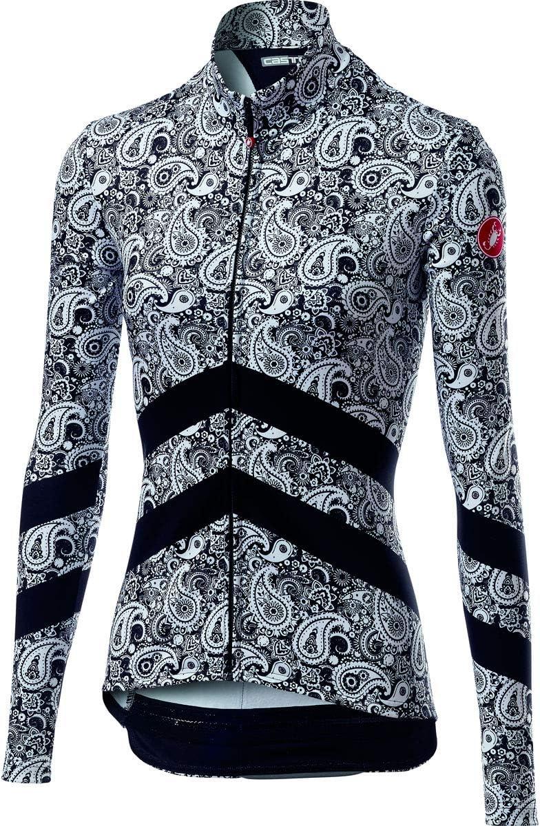 A19541 castelli 2019//20 Womens Goccia Full Zip Long Sleeve Cycling Jersey
