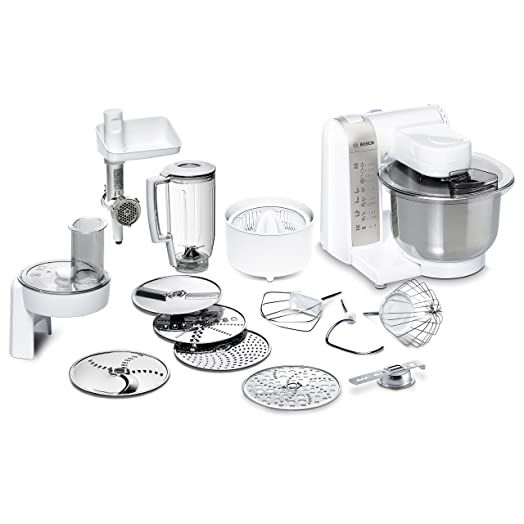 Bosch Mum 4 Mum48140De - Food Processor - 600 W - White: Amazon.Co